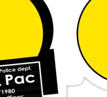 Pac Man Busted! Sticker