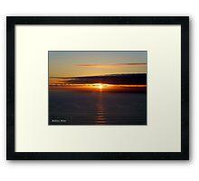 San Francisco Sunset 1516 Framed Print