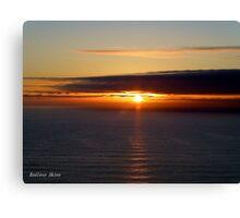 San Francisco Sunset 1516 Canvas Print