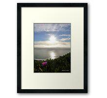 San Francisco Sunset 1517 Framed Print