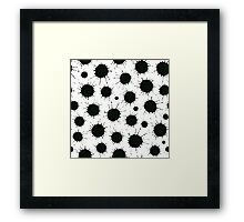 Ink spots Framed Print