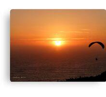 San Francisco Sunset 1520 Canvas Print