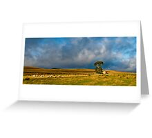 English countryside cottage Greeting Card