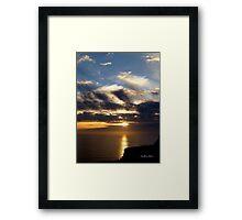 San Francisco Sunset 1522 Framed Print