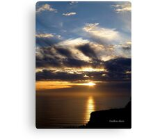 San Francisco Sunset 1522 Canvas Print