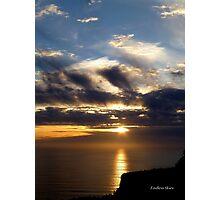 San Francisco Sunset 1522 Photographic Print