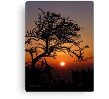 San Francisco Sunset 1524 Canvas Print