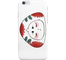 Cute Japanese OniGiri Girl - Chrysanthemum iPhone Case/Skin
