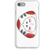 Cute Japanese OniGiri Girl - Chrysanthemum iPhone Case/Skin