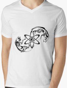 Schrodinger cat Mens V-Neck T-Shirt