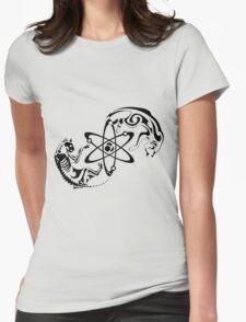 Schrodinger cat Womens Fitted T-Shirt