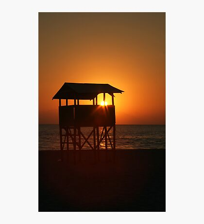 Evening on Playa Zicatela Photographic Print