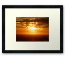 San Francisco Sunset 1527 Framed Print