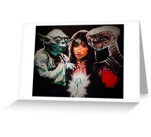 Dark Crystal of the Force Greeting Card
