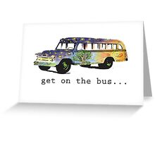 Hippie Bus Greeting Card