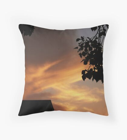 Light Up the Sky Throw Pillow