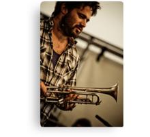 Harry's Trumpet Canvas Print