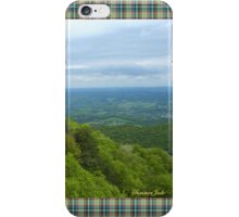Powell Valley from Pinnacle Overlook iPhone Case/Skin