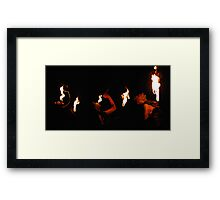 Fire Breather Framed Print