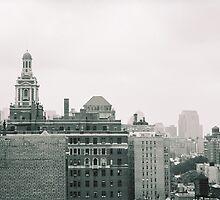 NYC Skyline by Christina  Mendenhall