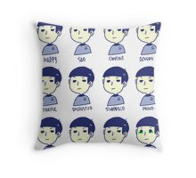 spocks emotions Throw Pillow