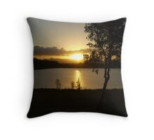 Last light of day... Throw Pillow