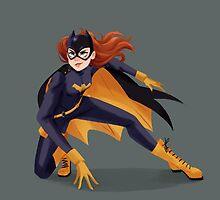 Batgirl by taryndraws