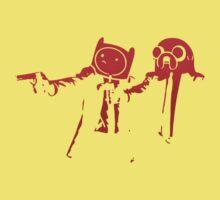 Adventure Time Pulp Fiction Kids Tee