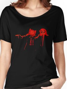 Adventure Time Pulp Fiction Women's Relaxed Fit T-Shirt