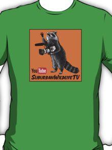 SuburbanWildlifeTV - as seen on YouTube T-Shirt