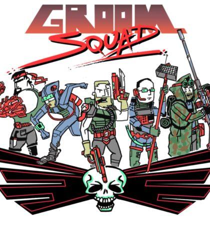 Groom Squad Sticker