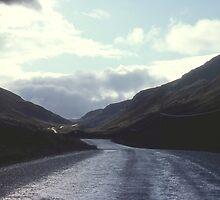 Glen Docherty after rain. Wester Ross, Scotland. by Peter Stephenson