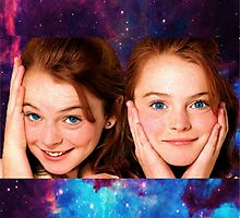 Lindsey Lohan child star the parent trap by silviestarlight