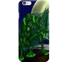 Swamp Monster iPhone Case/Skin