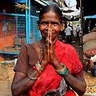 Namaste lady by jihyelee