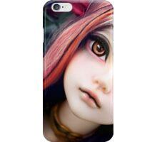 Amber Eyes iPhone Case/Skin