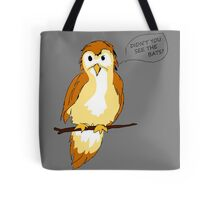 Natural Warning Signs Tote Bag
