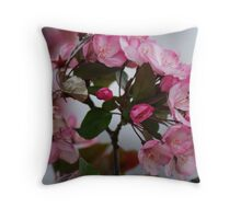 ENCIRCLED in PINK Throw Pillow