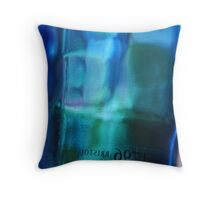 Bristol Blue Throw Pillow