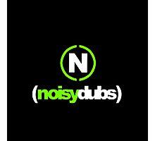 Logo w/ Noisy Music N Photographic Print