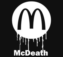 Mcdeath (white) by SpiderSteph