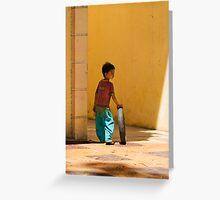 Cambodian Boy Greeting Card