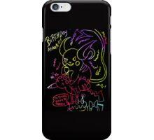 pikachus birthday attack iPhone Case/Skin