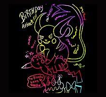 pikachus birthday attack by shesxmagic