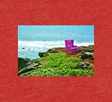 Pink Chair in Kauai, Hawaii Tri-blend T-Shirt