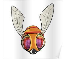 New School Surreal Fly Poster
