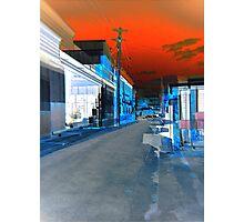neon bomb Photographic Print