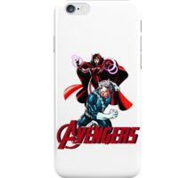 Avenger Twins - Scarlet Witch and Quicksilver iPhone Case/Skin