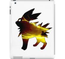 jolteon lightening storm iPad Case/Skin