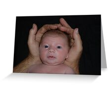 'Big hands' Greeting Card